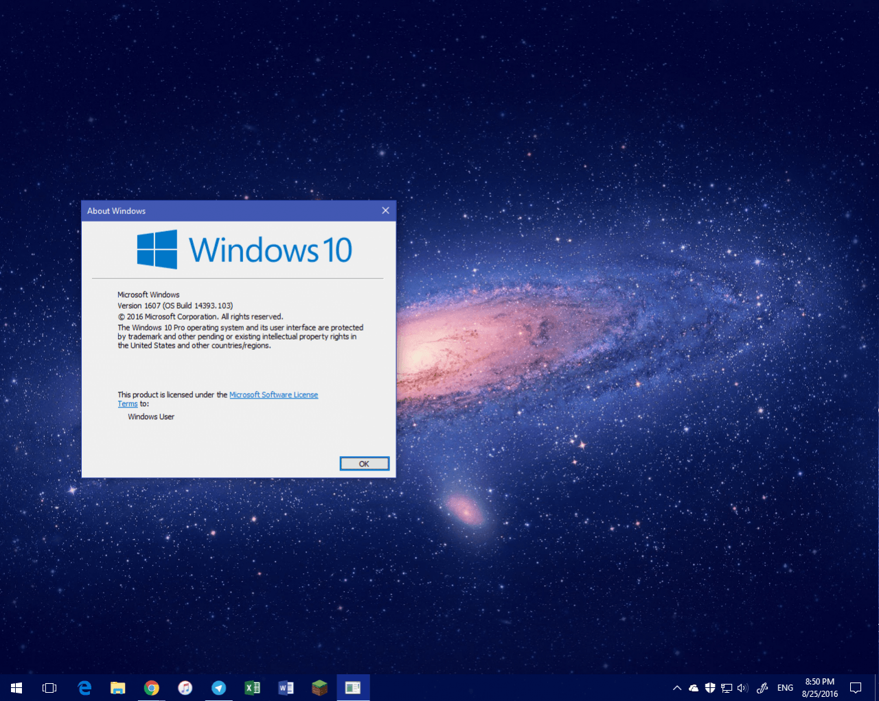 Windows 10 Release Preview 14393.103