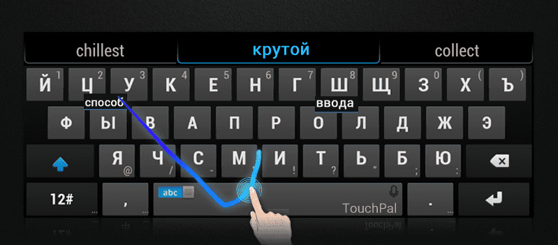 TouchPal Swype