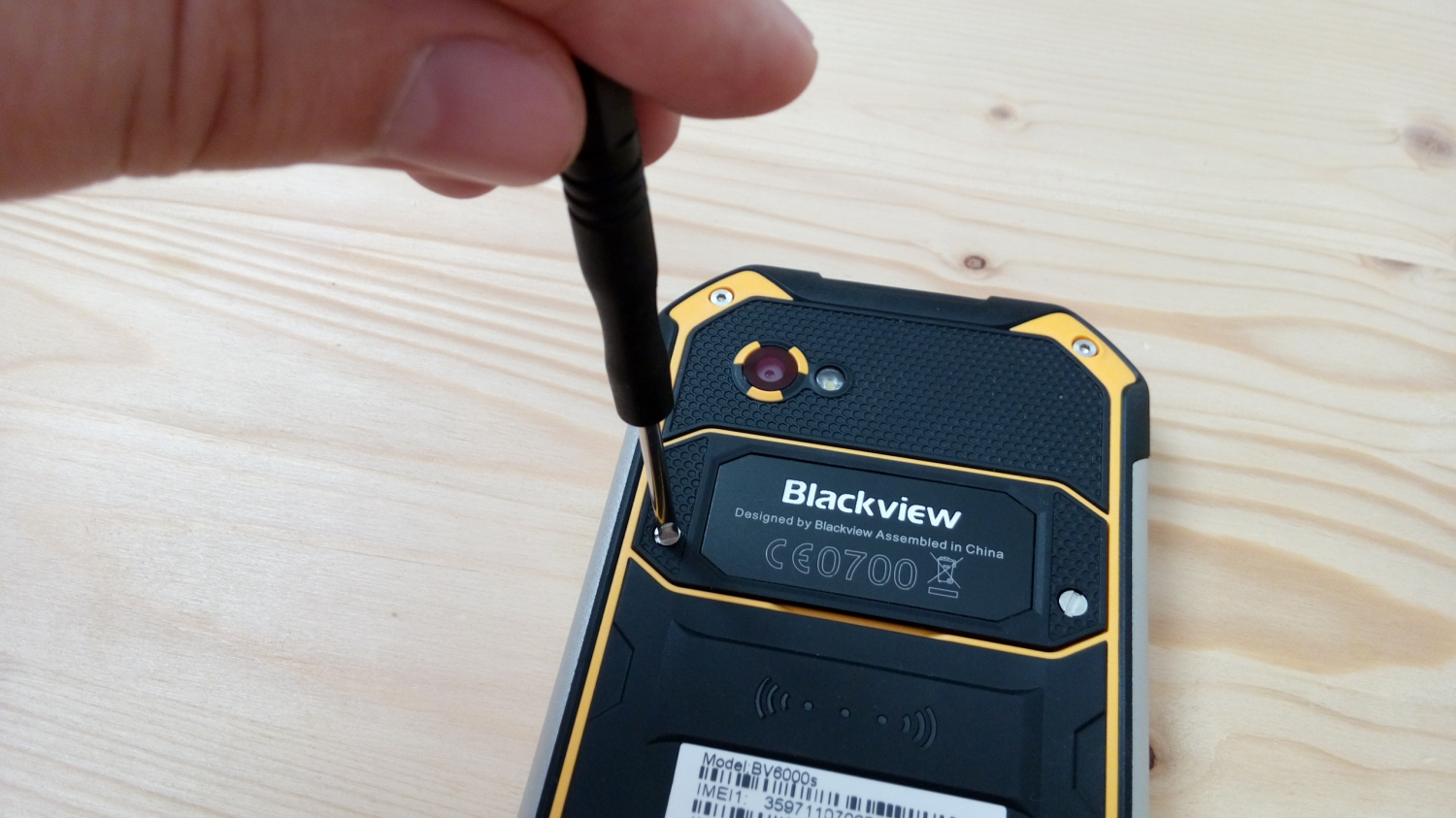 Blackview BV6000s photo 10