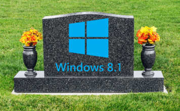 Windows 8.1 RIP