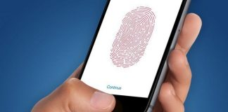 iCloud по Touch ID