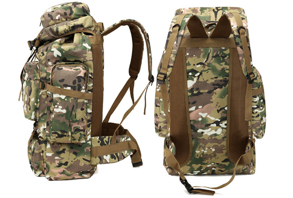 NoEnName_Null 70L Large travel military backpacks Shoulde