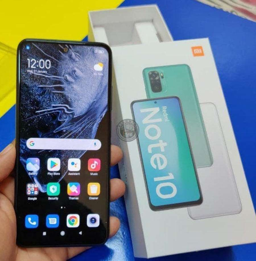 Распаковка Redmi Note 10